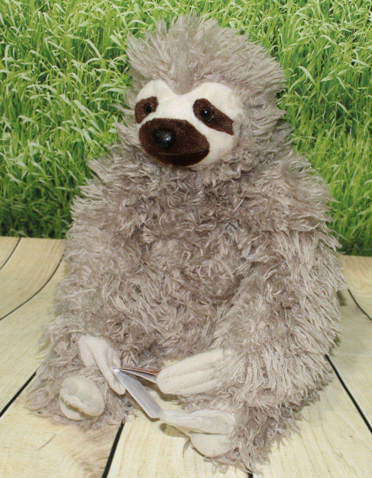 Wild Republic THREE SLOTH Plush Stuffed Animal Toy NEW