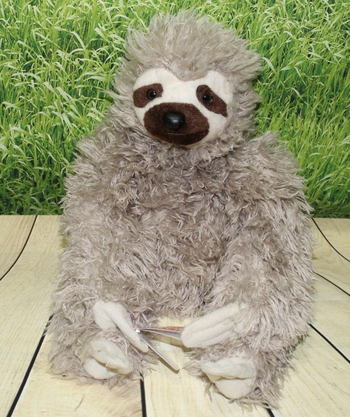 three toed sloth 12 plush cuddlekins stuffed