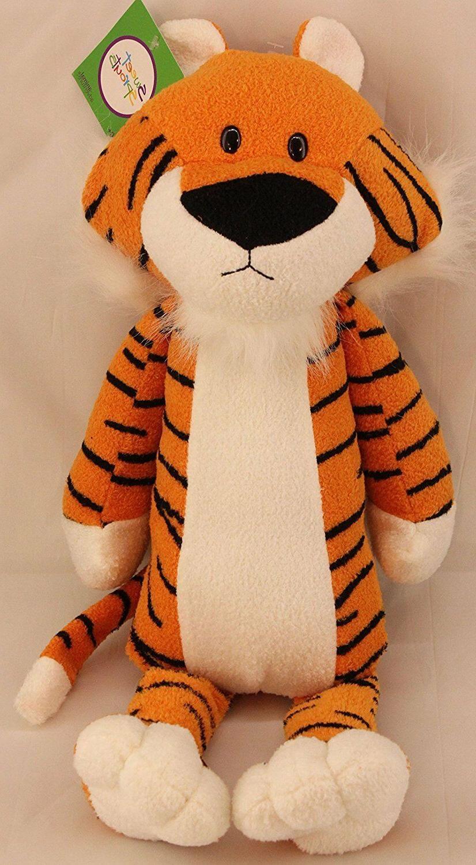 tiger plush figure toy stuffed doll animal