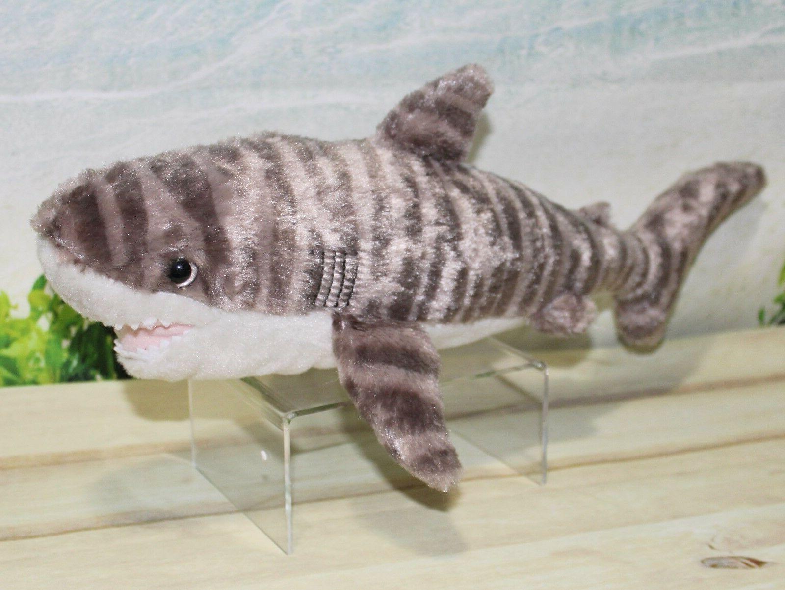 tiger shark plush stuffed animal