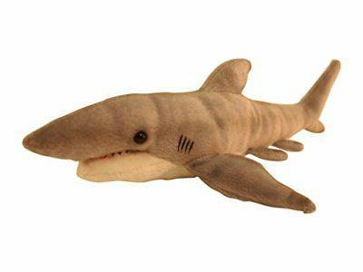 Wild Republic Tiger Shark Plush, Animal, Toy, Cuddlekins