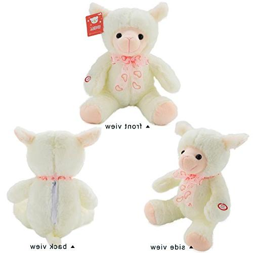 WEWILL LED Lamb Animals Toy Timer, Kids, White,