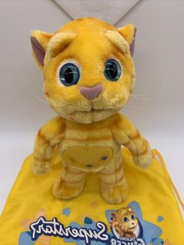 "Tom And Ginger Cat Plush 12"""