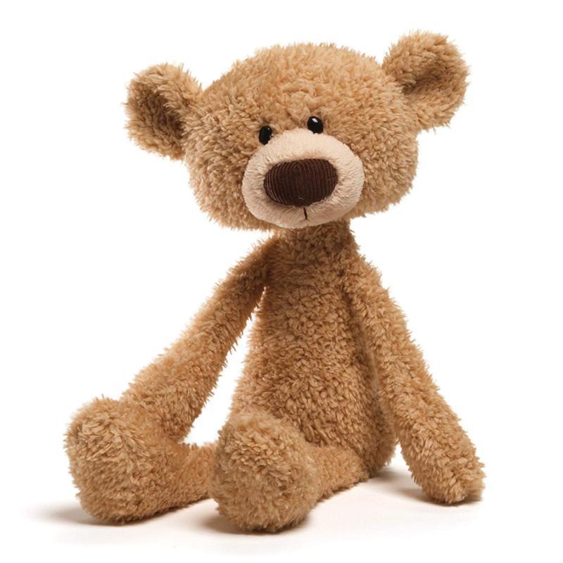 toothpick teddy bear stuffed animal plush beige