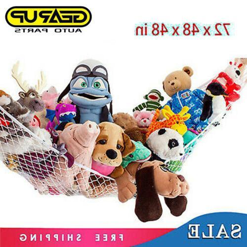 toy jumbo hammock net organizer stuffed animals