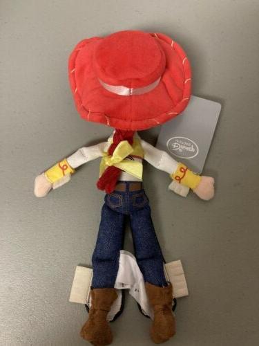 Disney Store Toy Jessie Mini Bag Plush Doll - NEW with
