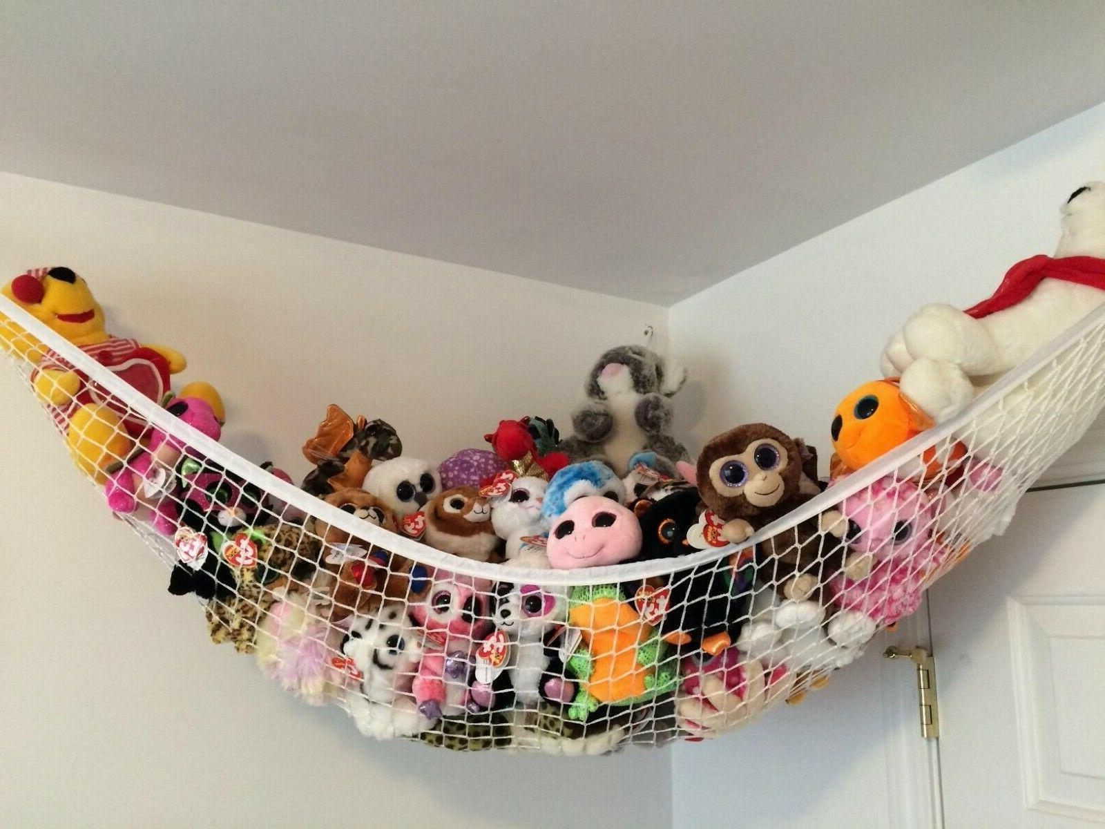toys storage organizer stuffed animals toy hammock