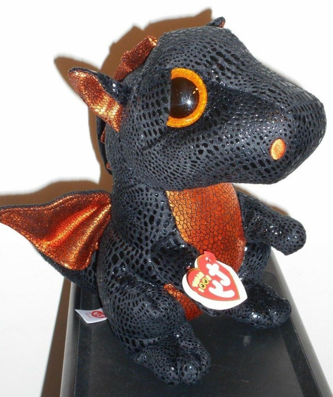 Ty Beanie Boos Buddy ~ MERLIN the Dragon  MWMT