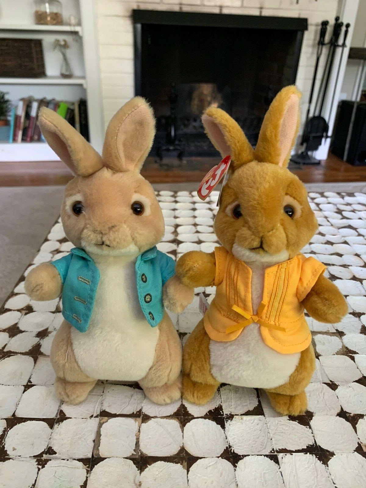 Brand New TY Peter Rabbit Plush Mopsy Rabbit
