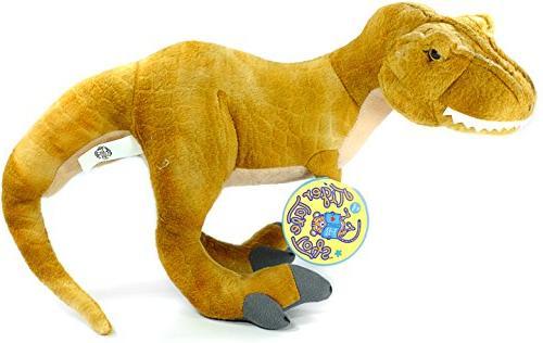 Tyrone 16 Inch Large Stuffed Tyrannosaurus Rex   By Tale Toys