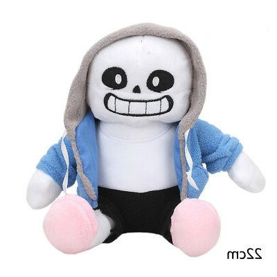 Undertale Sans Doll 8.5'' Hugger Cosplay Doll