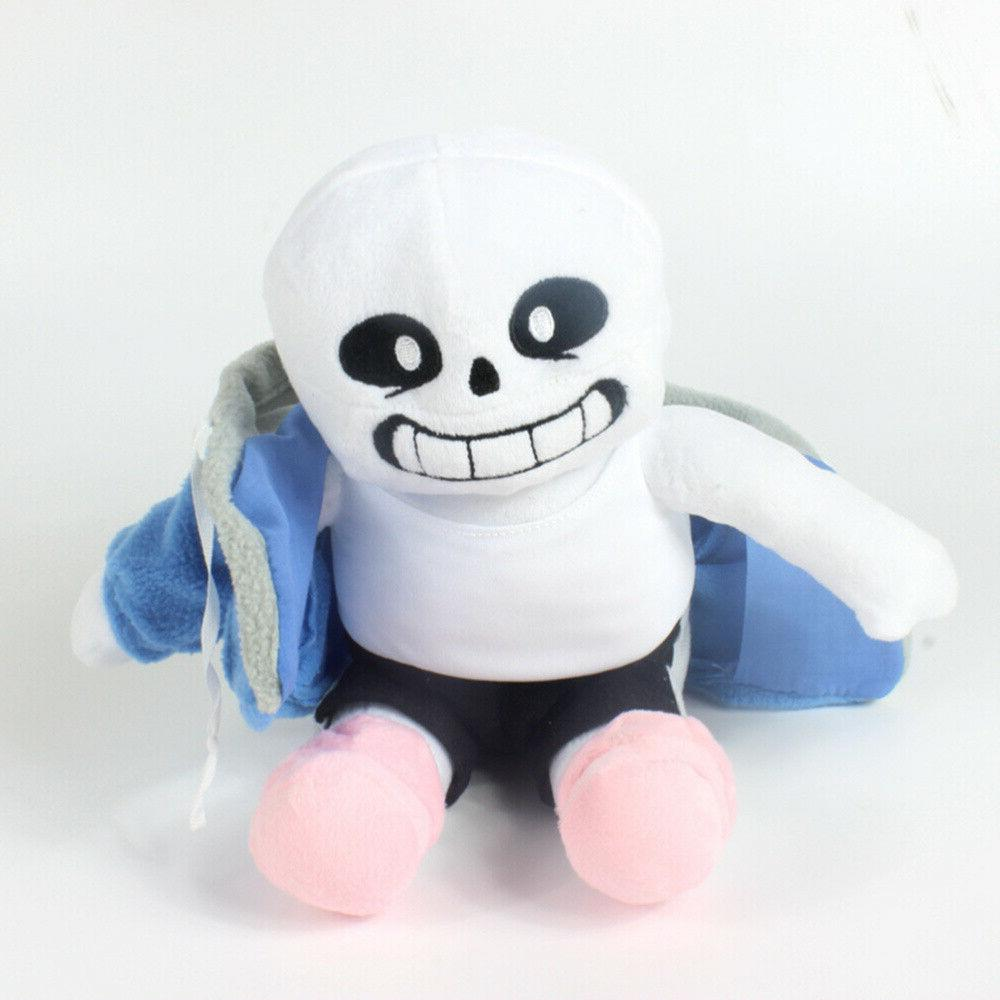 Undertale Sans Plush Doll 22cm Toy Hugger Cushion Cosplay Toy Gifts