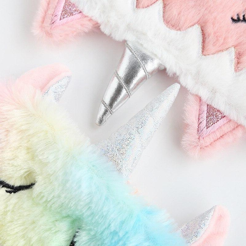 Unicorn Variety Sleeping Mask <font><b>Eye</b></font> Relax Mask Suitable Travel Home