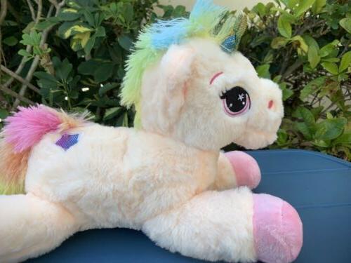 Unicorn Pink Small Plush Animal Kids Toy