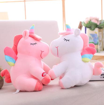 Unicorn Stuffed Princess Girls Nightlight Up