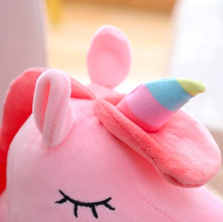 Unicorn Stuffed Cute Princess Girls Nightlight Up