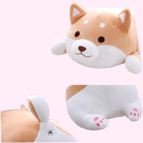 US Plush Pillow Akita Animals Toy