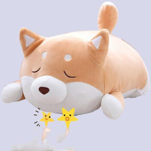 US Inu Plush Pillow Cute Akita Stuffed Doll