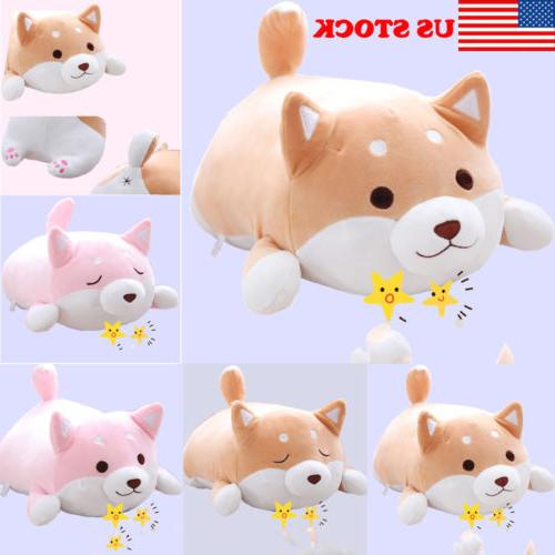 us shiba inu dog plush pillow cute