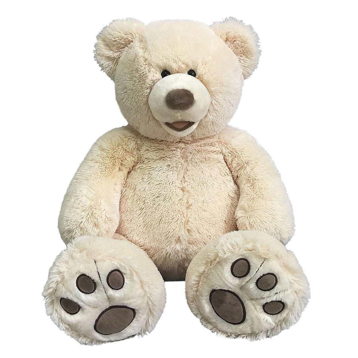 valentine plush teddy bear
