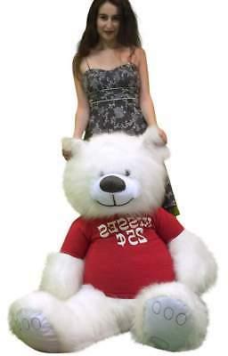 Valentine's Day Teddy Bear 55 Wears Tshirt CENTS