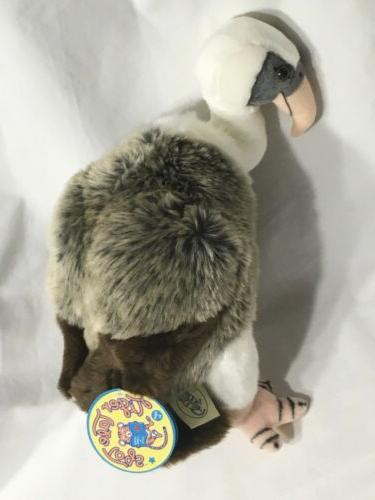 violet the vulture 12 inch stuffed animal