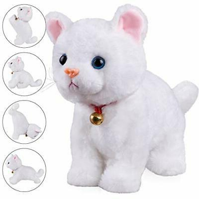 Plush Stuffed Animal Interactive Cat Robot Toy Robotic Cat B