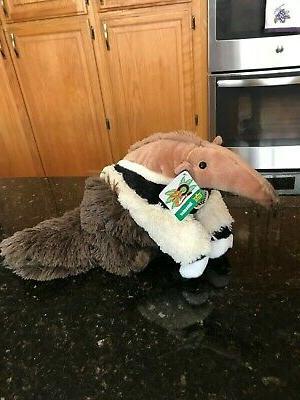 wild republic anteater stuffed animal plush cuddlekins