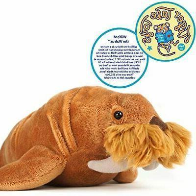 wilford walrus stuffed animal plush
