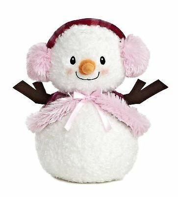 world bundled snowlady plush