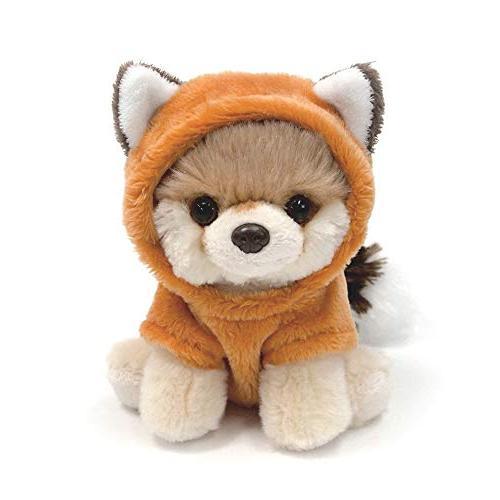 "GUND World's Dog Itty Bitty Boo #50 Fox 5"" Animal, Red"