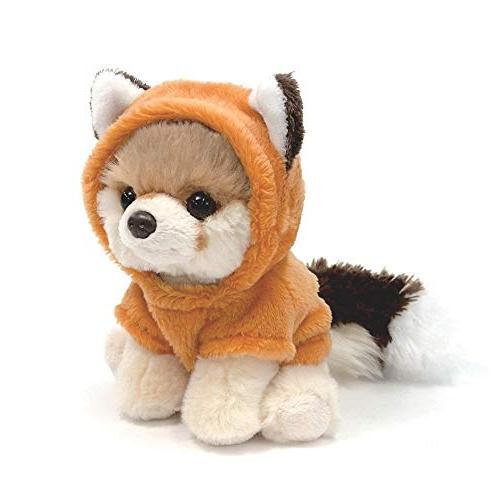 "GUND Dog Itty Bitty Fox Plush 5"" Animal,"