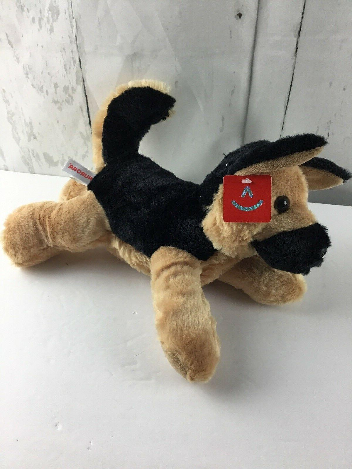 Aurora World Flopsie Dog Bismarck Brown Black Super Dog