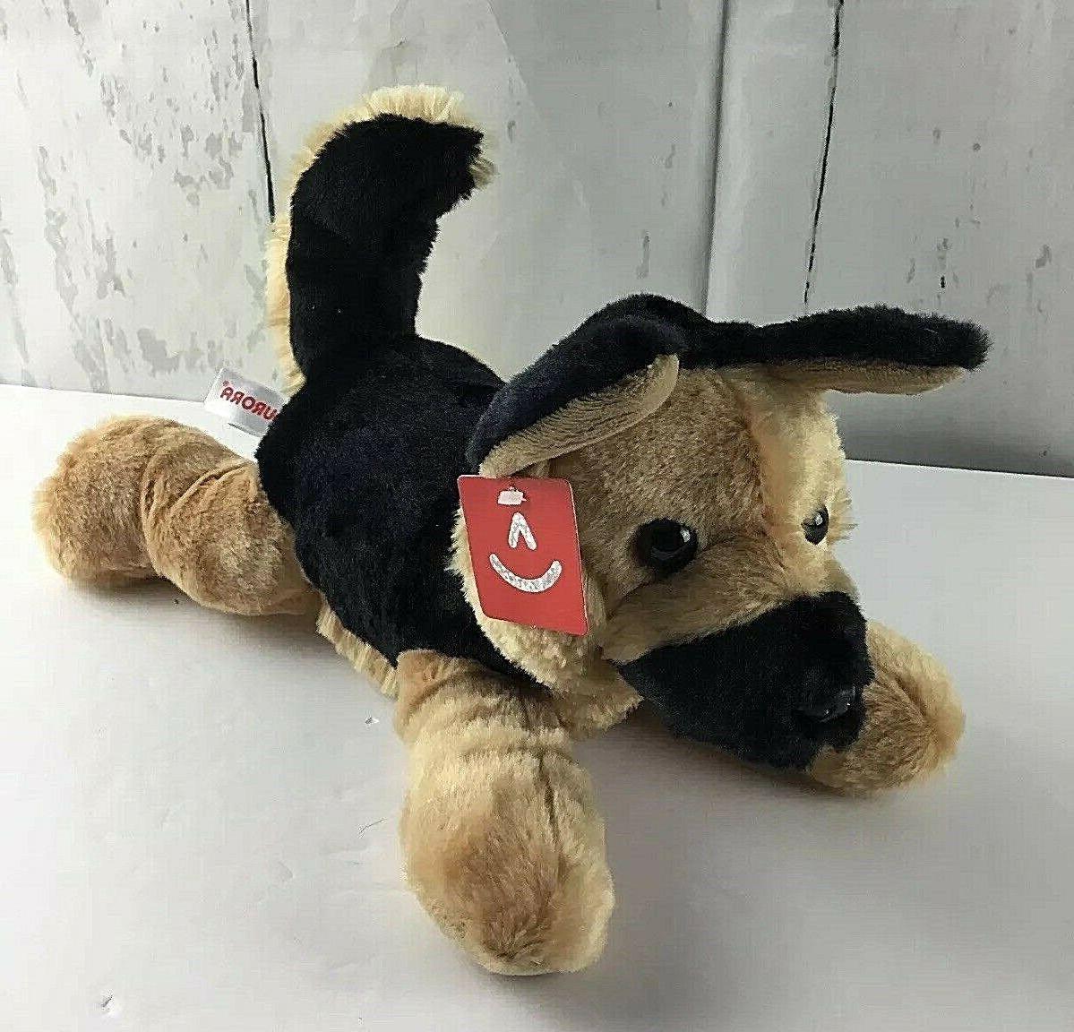 world flopsie dog bismarck plush nwt brown