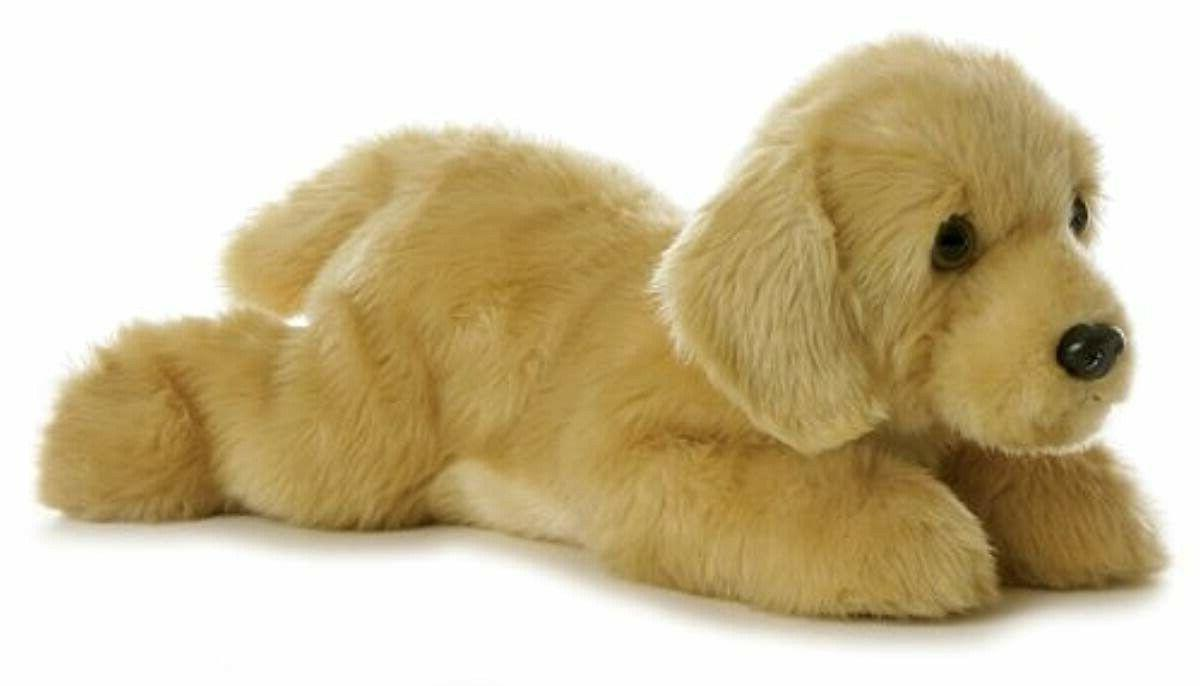 world flopsie plush goldie labrador dog 12