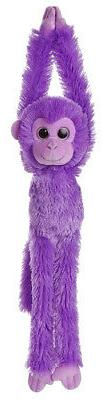 Aurora World – Hanging Monkey – Soft and Snuggly Plush S