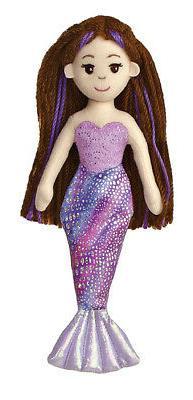 """Aurora World Merrisa Mermaid 10"""" Plush"""