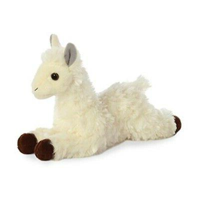 Aurora 31744 World Mini Flopsie Plush Toy Toy, White
