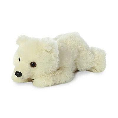world plush mini flopsie polar bear 8