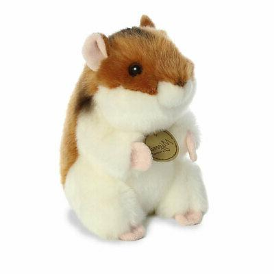 world plush miyoni hamster small 6 inch