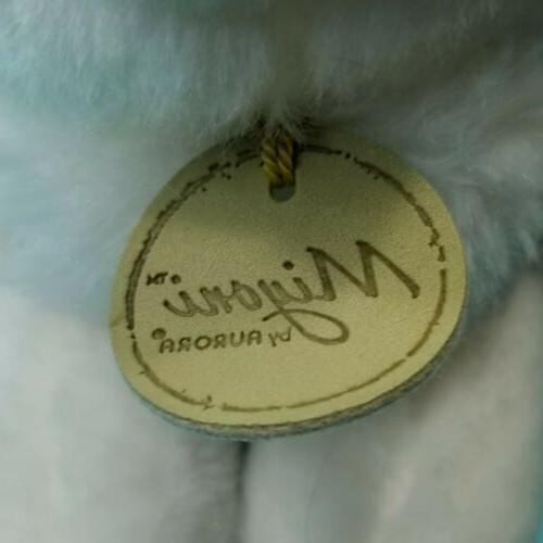 "Aurora Animal Miyoni Off White Bunny 8"" Long"