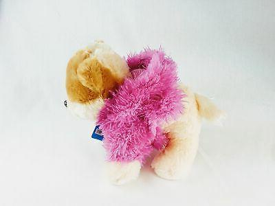 Gund Cutest Dog Boo Fuzzy Pink Jacket Stuffed Animal