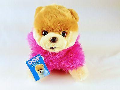 "Gund World's Boo Pink Stuffed Plush 9"""