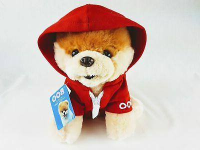 world s cutest dog boo red jacket