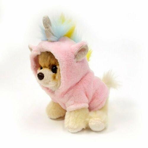 "Gund World's Cutest Dog Itty Bitty Unicorn Stuffed 5"""