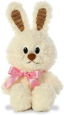 Aurora World White Chocolate Bunny Stuffed Animal Plush, 11""