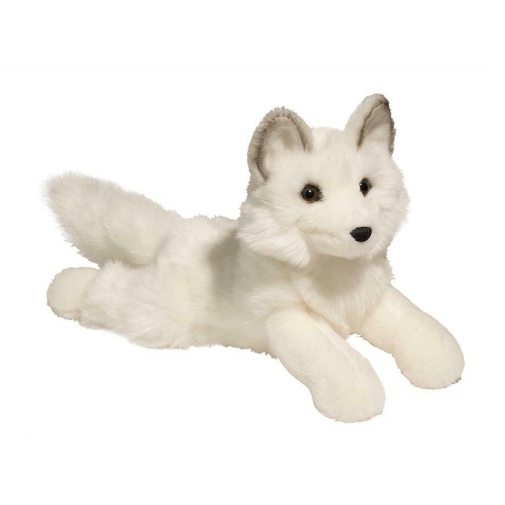 yuki plush long arctic fox