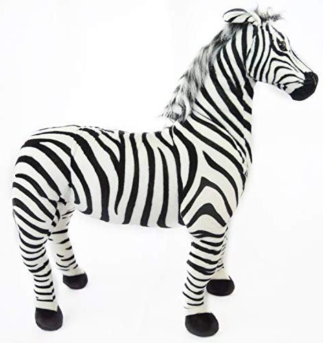 VIAHART The | 3 Stuffed Zebra Horse | Shipping from Texas | Tiger Toys