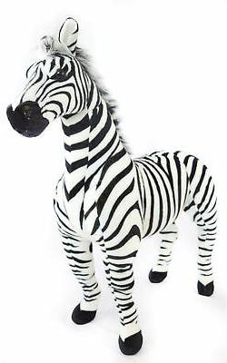 zelassie zebra big stuffed animal