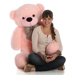 Giant Teddy Brand - 4 Foot Huge Cuddly Stuffed Animal for Gi
